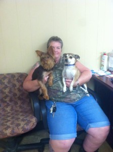 Going home day for Ralph and Petey!